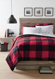 canadiana reversible 3pc comforter set