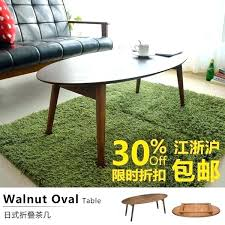 decoration lights indoor retro oval coffee table small folding tables apartment minimalist modern style tatami creative