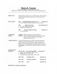 Cover Letter Resume Objective Examples Resume Objective Examples