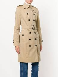 Burberry Sizing Charts Trench Coats Burberry The Sandringham Long Trench Coat Farfetch Com
