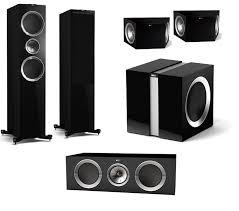 kef ls50 home theater. kef r900 5.1 home theatre speaker package kef ls50 theater