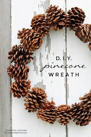 12 Super Cute DIY Pine Cone Crafts To Decorate Your Home  DIY Christmas Pine Cone Crafts