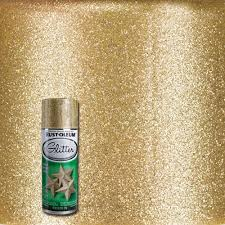 Dishwasher Rack Coating Home Depot RustOleum Specialty 100100 oz Gold Glitter Spray Paint100 The 49