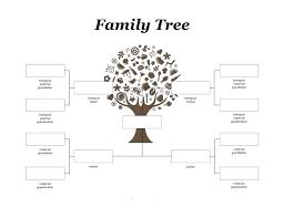 Genealogy Family Tree Forms Free Genealogy Form Family Tree Template Word Printable Fan Chart