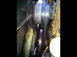 c engine serpertine belt removal and install c15 engine serpertine belt removal and install