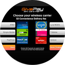 pay your prepaid wireless account in real time