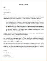 Employee Performance Letter Sample Pin By Alizbath Adam On Daily Microsoft Templates Letter