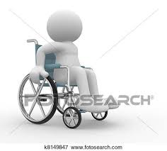 車椅子 イラスト