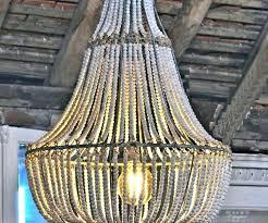 elena wood bead chandelier pottery barn chandeliers for wooden bali new ideas home improvement inspiring