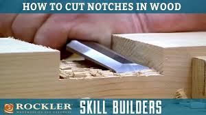 cutting notches for lap joints with a circular saw rockler skill builders