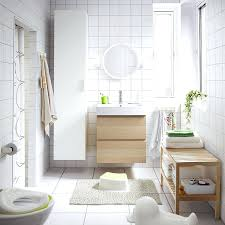 Ikea Bathroom Decorating Ideas A Medium Size White Bathroom With