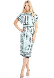Maggy London Size Chart Maggy London Caroline Geo Print Dress Multi