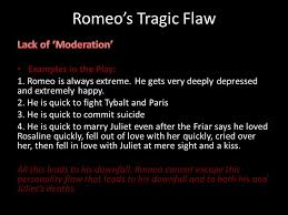 romeo and juliet tragedy and the tragic flaw tragedy tragedy is  7 romeo s tragic flaw