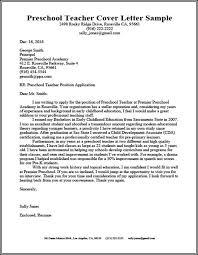 Sample Elementary Teacher Cover Letter For Resume Resume