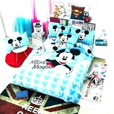 mickey mouse bedding queen size or mickey mouse bedding twin bed set clubhouse comforter cartoon full