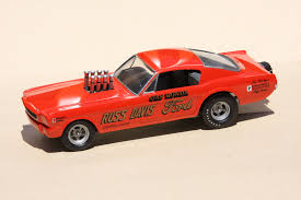 Fred Cady Design Gas Ronda Af X Long Nose Mustang Made From Two Amt Mustang