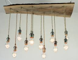 salvaged live edge wood chandelier by urban chandy inhabitat green design innovation architecture green building