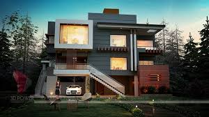 Luxurious 3D Modern Bungalow rendering & elevation design by 3D Power on  Architizer