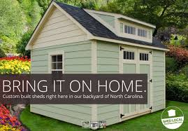 custom storage shed builder free delivery installation shed depot nc