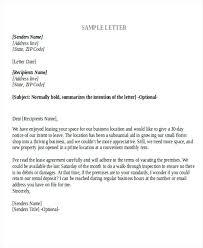 Break Lease A Landlord Rental Letters Rent Contract Letter Tenancy ...