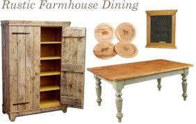 farmhouse furniture style. Rustic Farmhouse Dining Tables Furniture Style E