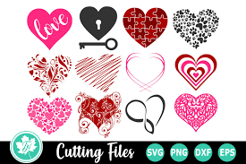 Free svg love grows here valentine's porch sign this free svg cutting file contains the following formats: Heart Bundle A Valentine Svg Cut File Bundle 194256 Cut Files Design Bundles