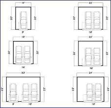 two car garage door width 2 inside plan 21