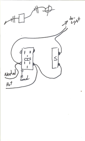hi i want to run surface wiring in my shed power to receptacle here it is again