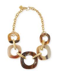graduating horn link necklace quick look ashley pittman
