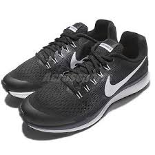 nike running shoes for girls black and white. image is loading nike-zoom-pegasus-34-gs-black-kids-girls- nike running shoes for girls black and white