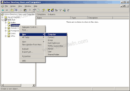 Adding A Computer To Active Directory