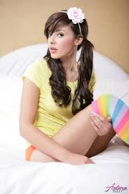Autumn Riley Pink Toy Colorful Socks 98079 Pornstar Picture.