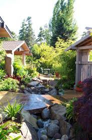 Asian Inspired Landscaping Ideas | ... Designs Asian Style Landscape  Northwest Home Style Ideas