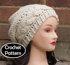 Free pattern for teen slouchy hat