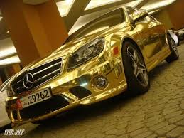 Image result for gold car