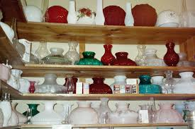 ball shades chimneys fenton cranberry french opalescent 10 student melon panel tam 10 white milk glass opal shades lamps