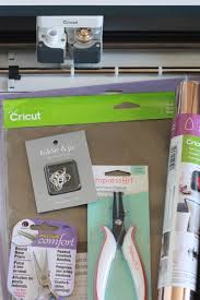 supplies for cricut faux leather earrings