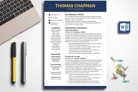 Professional Resume Template Word ~ Resume Templates ~ Creative Market