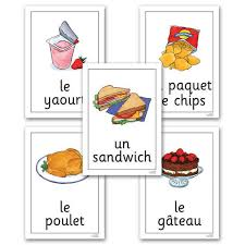 Food Flash Cards Buy Food And Drink French Vocabulary Flashcards 24pk Tts International