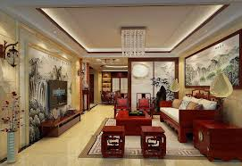 Chinese Living Room Design Custom Chinese Living Room Design