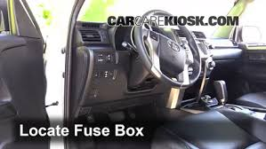 interior fuse box location toyota runner toyota interior fuse box location 2010 2016 toyota 4runner 2013 toyota 4runner limited 4 0l v6