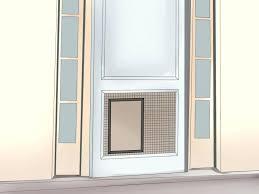 cat door for screen door pet door pet door ways to install or dog marvelous photo