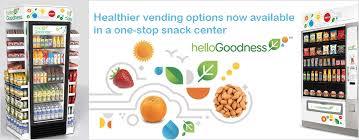 Hello Goodness Vending Machine Impressive Hello Goodness Vending Machines Healthy Vending Machines