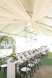 Rectangle Tables Wedding Reception Wedding Reception Rectangle Table Ideas Outdoor Tented