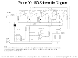 mxr phase 90 schematics no look at the circuit diagram