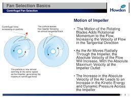 Radial Fan Blade Design Fan Selection Powerpoint Slides