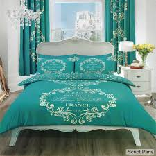 teal king duvet cover enlarge