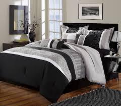 black and gray comforter king
