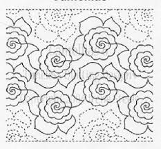 1056 best Quilting - free motion/LA designs images on Pinterest ... & Free Patterns For Machine Quilting – Catalog of Patterns Adamdwight.com