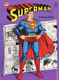 Leave a reply cancel reply. Superman Coloring Book Sc 1965 1980 Whitman Comic Books